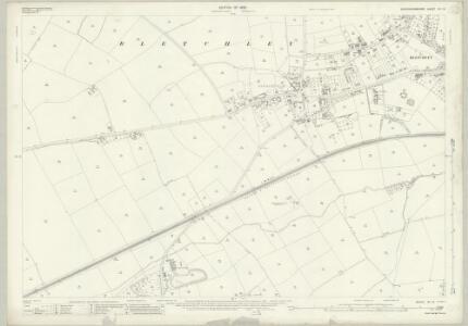 Buckinghamshire XV.13 (includes: Bletchley; Newton Longville) - 25 Inch Map
