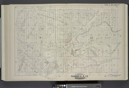 Vol. 5. Plate, O. [Map bound by Court St., Lorraine St., Columbia St., Carroll St.; Including Clinton St., Henry St., Manhasset Place, Hicks St., Hamilton Ave., First Place, Summit St., Second Place, Woodhull St., Third Place, Papelye St., Fourth Place,