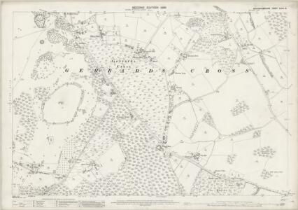Buckinghamshire XLVIII.15 (includes: Gerrards Cross) - 25 Inch Map