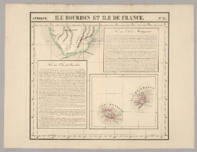 Ile Bourbon, Ile de France. Afrique 57.