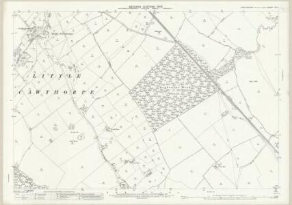 Lincolnshire LVI.11 (includes: Haugham; Legbourne; Little Cawthorpe; Muckton; North Reston) - 25 Inch Map