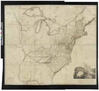 A map of the United States of North America: drawn from a number of critical researches / By A. Arrowsmith.