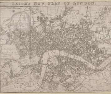 LEIGH'S NEW PLAN OF LONDON 212