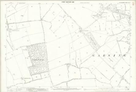 Oxfordshire XL.9 (includes: Garsington; Littlemore; Sandford on Thames; Toot Baldon) - 25 Inch Map