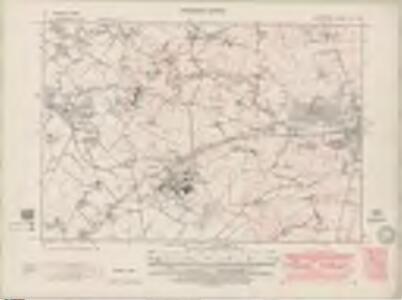 Lanarkshire Sheet XVI.NE - OS 6 Inch map