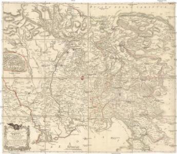 Nuova carta topografica del territorio di Friul
