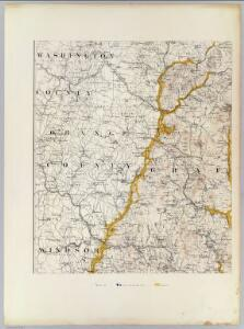 (Topographic and glacial feature map of New Hampshire.  Sheet 2)