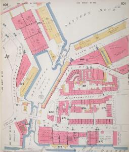 Insurance Plan of London Vol. V: sheet 101