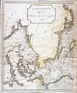 Carte réduite de la mer Baltique, 1