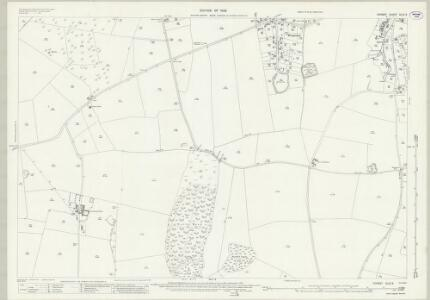 Dorset XLIX.9 (includes: Coombe Keynes; Winfrith Newburgh; Wool) - 25 Inch Map