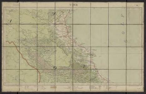 Carte de l'Indochine au 1:500 000. Feuille N8, Vinh