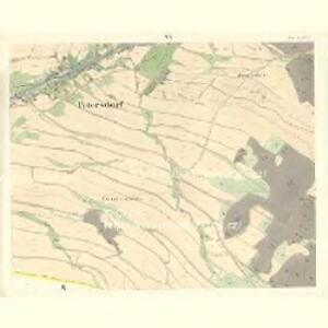 Petersdorf (Petrowice) - m2261-2-005 - Kaiserpflichtexemplar der Landkarten des stabilen Katasters
