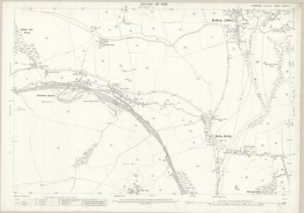 Yorkshire CLXVIII.4 (includes: Beamsley; Bolton Abbey; Draughton; Halton East; Hazlewood With Storiths) - 25 Inch Map