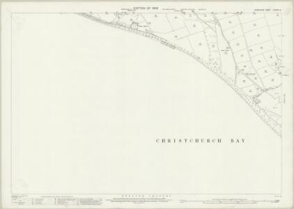 Hampshire and Isle of Wight LXXXVIII.13 (includes: Lymington) - 25 Inch Map