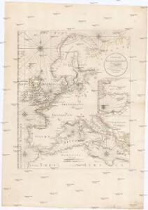 Übersicht der Europaeischen Seeküsten