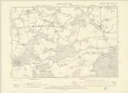 Berkshire XXVIII.SW - OS Six-Inch Map