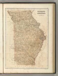 Missouri and Arkansas.