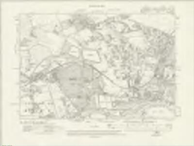 Surrey VI.SW - OS Six-Inch Map