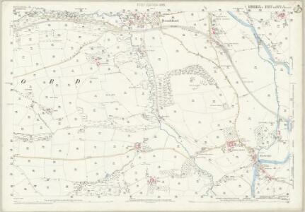 Somerset LXVII.11 (includes: Brushford; Dulverton; Morebath) - 25 Inch Map