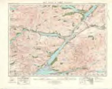 Ben Nevis  & Fort William (47) - OS One-Inch map