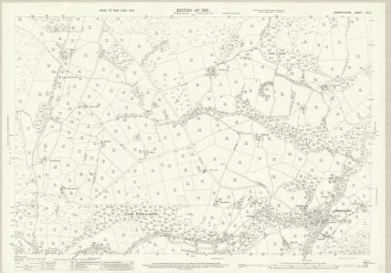 Denbighshire XIX.5 (includes: Llanfwrog Rural; Llanrhaiadr Yn Cinmerch; Llanynys Rural; Y Gyffylliog) - 25 Inch Map