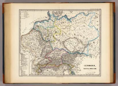 Germania, Raetia, Noricum.