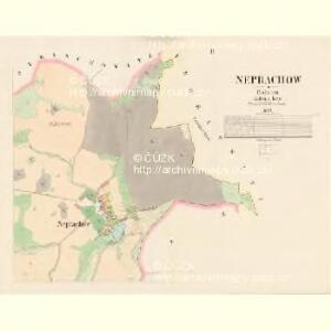 Neprachow - c5046-1-002 - Kaiserpflichtexemplar der Landkarten des stabilen Katasters