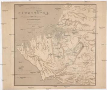 Plan von der Festung Sewastopol