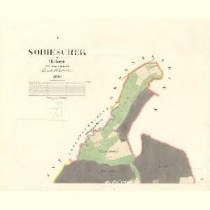 Sobieschek - m2809-1-001 - Kaiserpflichtexemplar der Landkarten des stabilen Katasters