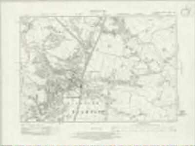 Cheshire XXVIII.NW - OS Six-Inch Map