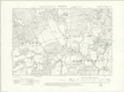 Sussex X.SE - OS Six-Inch Map