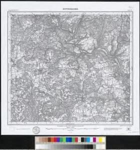 Meßtischblatt [7622] : Buttenhausen, 1912