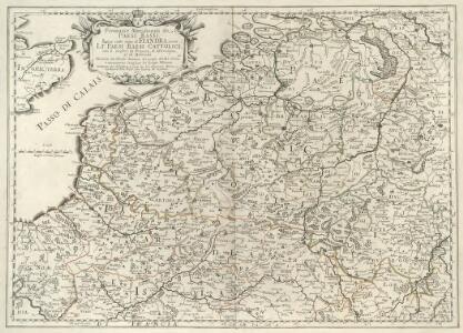 Prouincie Meridionali de Paesi Bassi. Intese sotto nome di Fiandra ouero Li Paesi Bassi Cattolici