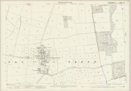 Nottinghamshire XVI.13 (includes: Kettlethorpe; Newton On Trent; Thorney) - 25 Inch Map
