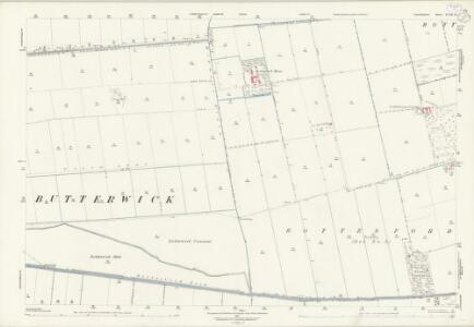 Lincolnshire XVIII.14 (includes: Bottesford; Burringham; East Butterwick; Messingham) - 25 Inch Map