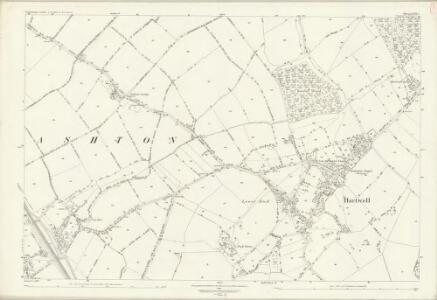 Northamptonshire LVII.2 (includes: Ashton; Hartwell; Roade) - 25 Inch Map