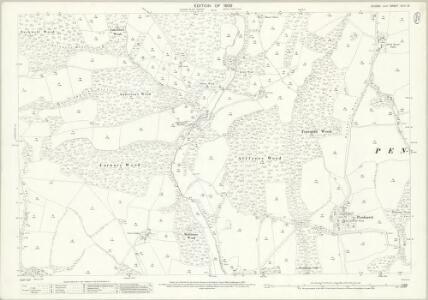 Sussex XLIII.13 (includes: Ashburnham; Penhurst) - 25 Inch Map