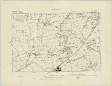 Worcestershire XXII.SE - OS Six-Inch Map