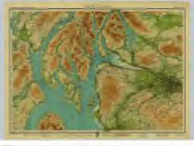 Firth of Clyde, Sheet 7  - Bartholomew's
