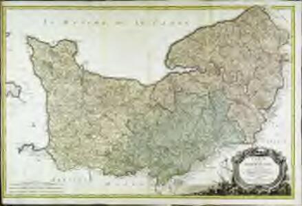 Carte de la Normandie