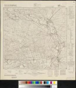 Meßtischblatt 4555 : Priebus (Schlesien), 1940