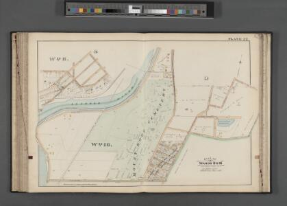 Rochester, Double Page Plate No. 27 [Map bounded by Magnolia St., Oakland St., Highland Ave., Elmwood Ave.] / compiled from official records, private plans & actual surveys under the direction of E. Robinson.
