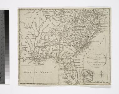 An exact map of North and South Carolina & Georgia : with east and west Florida from the latest discoveries / J. Lodge, sculp.