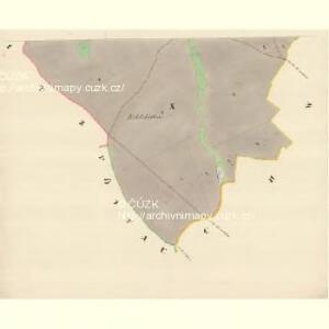 Gross Deschau - m3335-1-010 - Kaiserpflichtexemplar der Landkarten des stabilen Katasters
