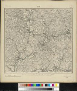 Meßtischblatt 3118 : Mehlis, 1918