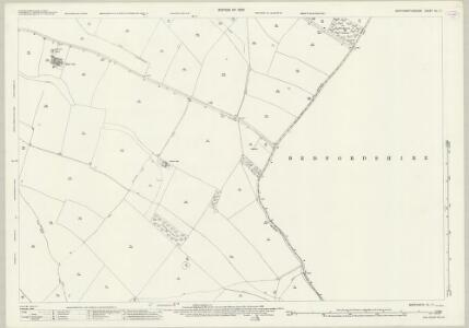 Northamptonshire XL.11 (includes: Chelveston Cum Caldecott; Higham Ferrers; Melchbourne and Yelden; Newton Bromswold; Rushden) - 25 Inch Map