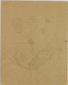 Porostní obrysová mapa polesí Jílovice 1