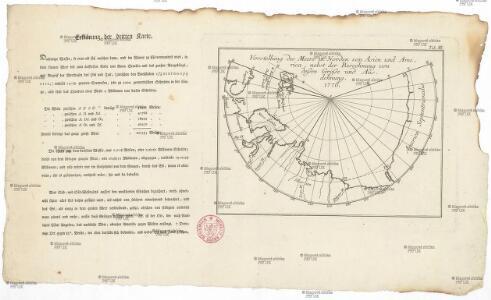Vorstellung des Meers in Norden von Asien und America, nebst der Berechnung von dessen Grösse und Ausdehnung