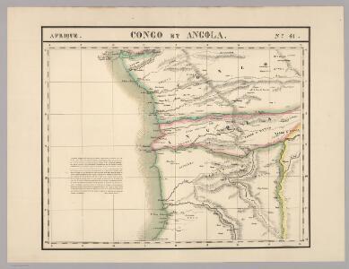 Congo et Angola. Afrique 41.