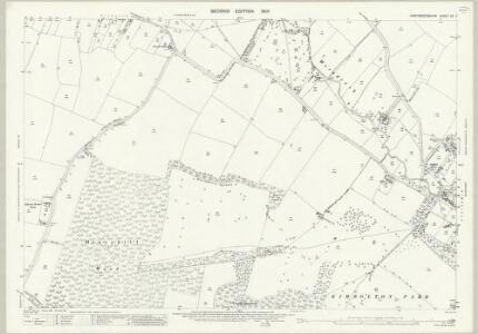 Huntingdonshire XX.7 (includes: Kimbolton; Tilbrook) - 25 Inch Map